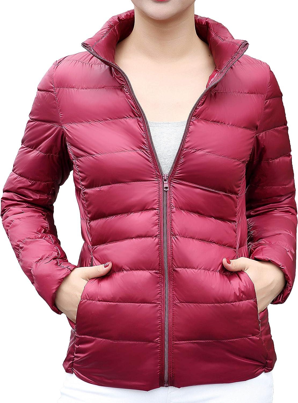 Mochoose Womens Ultra Light Weight Outdoor Packable Coat Outwear Puffer Down Jacket