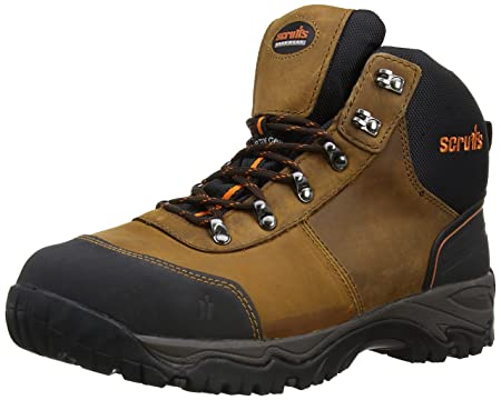 6c397eb7da4 Scruffs Mens Assault Hiker SBP Safety Shoes T52009 Brown 9 UK, 43 EU