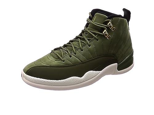 d7f2a08cd8c08 Nike Men's Air Jordan 12 Retro Gymnastics Shoes: Amazon.co.uk: Shoes ...