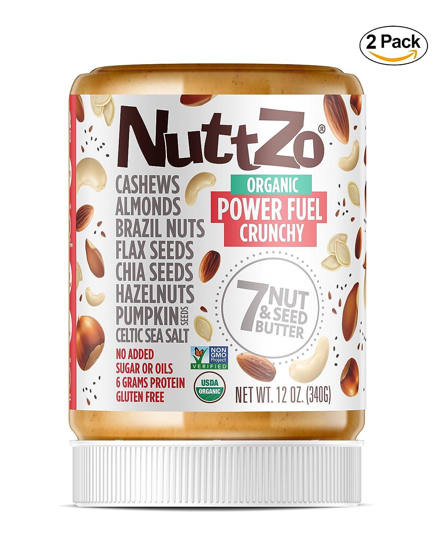 Nuttzo - Mantequilla orgánica de siete tuercas y semillas ...