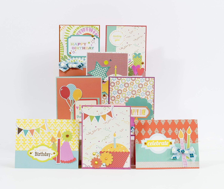 Birthday Card Making Kit Pack