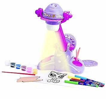 Lexibook CRLPS100 Littlest Pet Shop - Proyector de dibujo ...