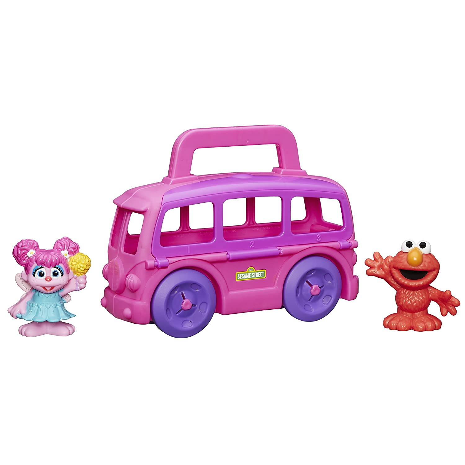 amazon com sesame street abby cadabby on the go case toys u0026 games