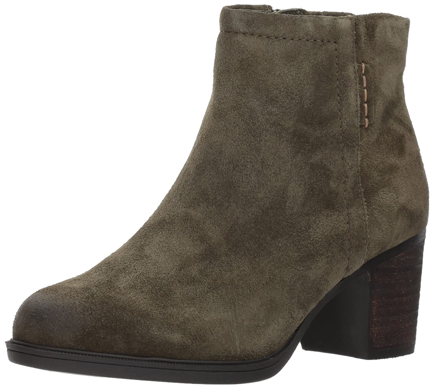Cobb Hill Women's Natashya Bootie Ankle Boot B01MV6UADH 6 B(M) US|Green Suede