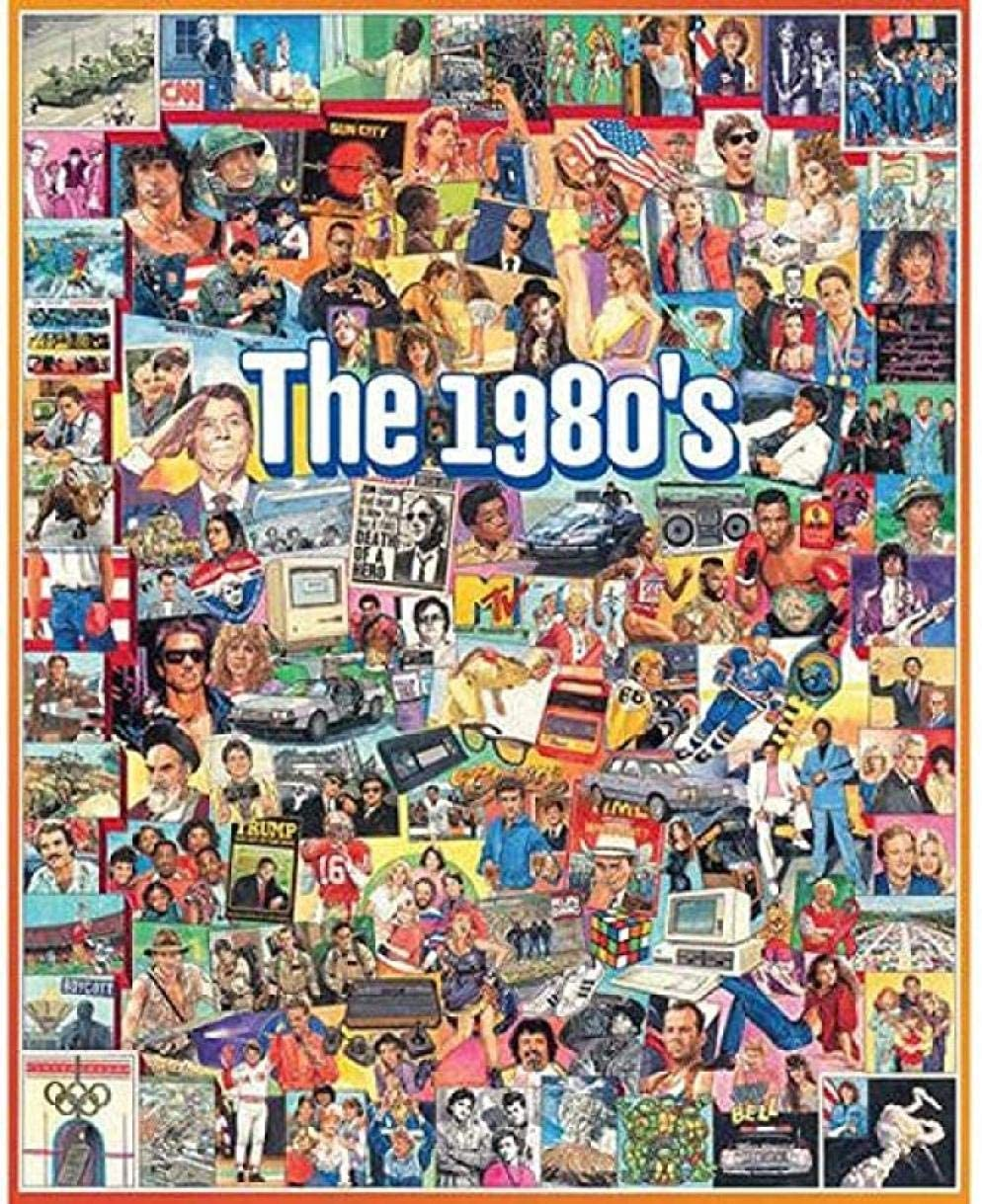 The 1980s Jigsaw Puzzle