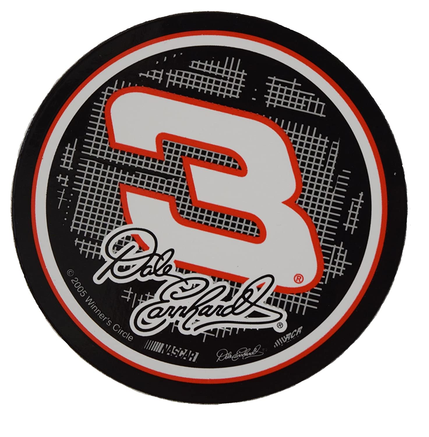 Amazon com nascar dale earnhardt sr 3 3 circle decal sports outdoors