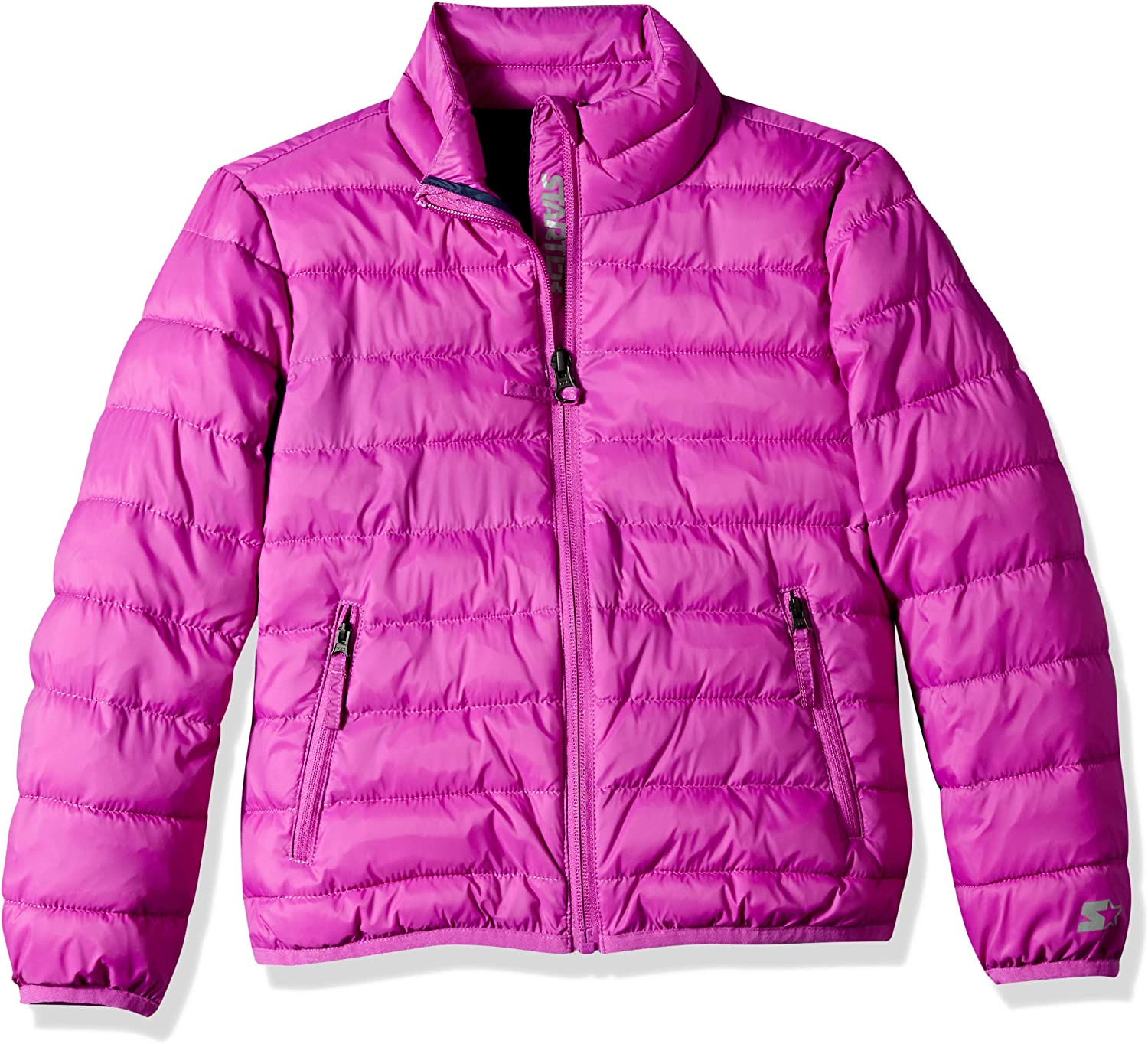 Starter Girls' Packable Puffer Jacket,  Exclusive: Clothing