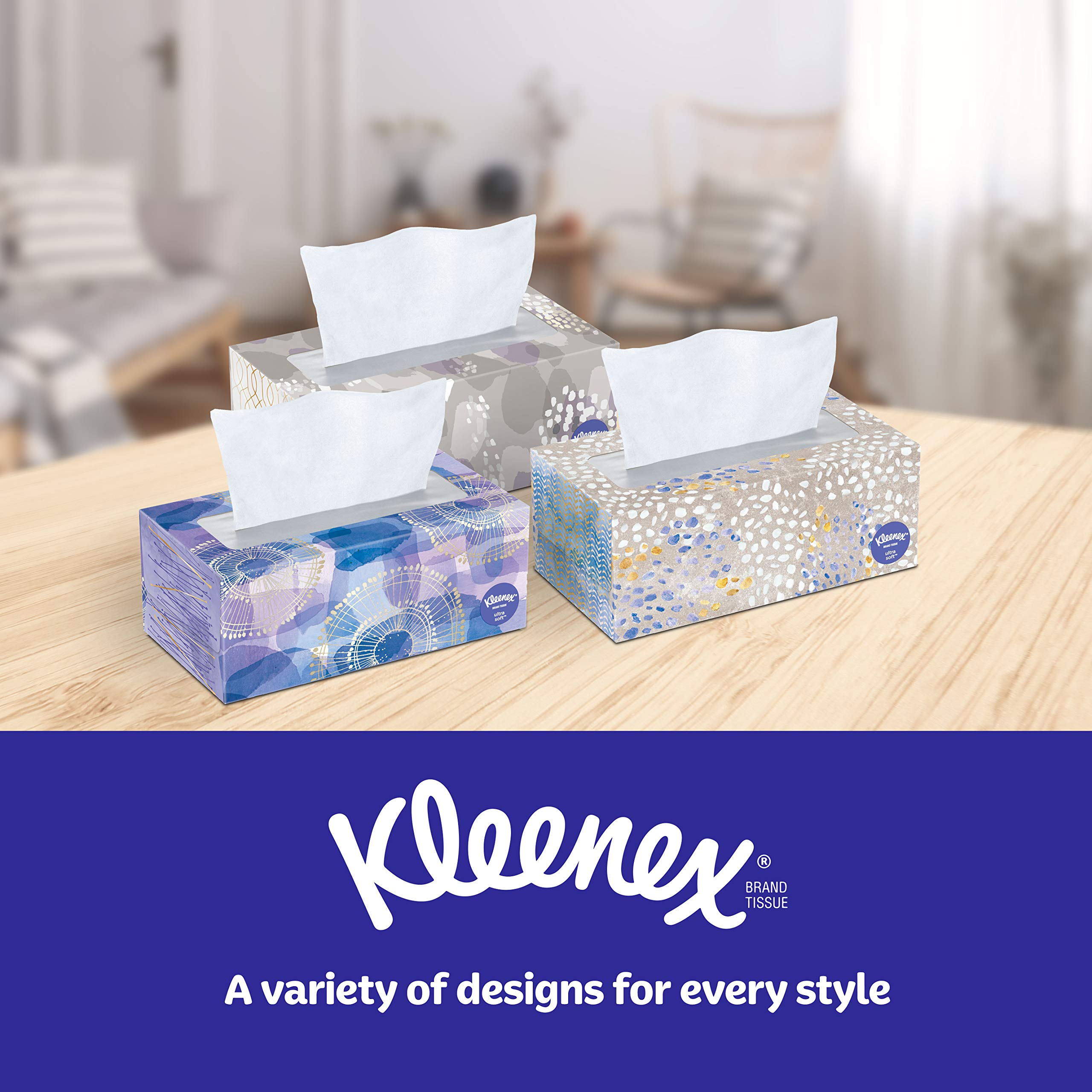 Kleenex Ultra Soft Facial Tissues, 120 Count per Box, Pack of 8 by Kleenex (Image #5)