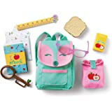 """American Girl WellieWishers Ready to Learn Backpack & Lunch Set for 14.5"""" Dolls"""