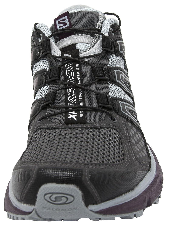 Salomon Womens XR Mission Trail Running Shoe 9 B US, Magnent//Black//Purple M