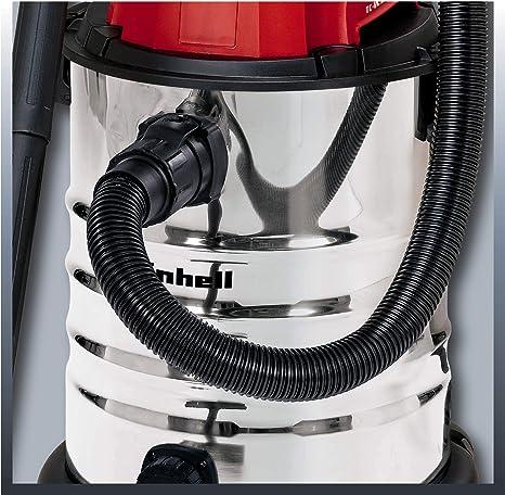 Einhell 2342188 Aspirador seco-húmedo, 1500 W, 230 V, Negro, Gris ...