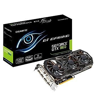 Gigabyte GV-N960G1 GAMING-2GD GeForce GTX 960 2GB GDDR5 ...