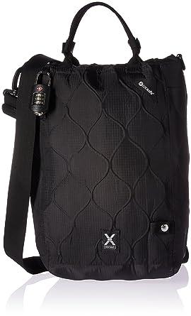 Sac à provisions PacSafe Travelsafe X15, noir, une taille