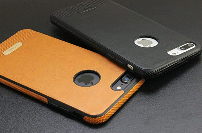 official photos 8ed6c 56ee9 Amazon.com: Slim Phone Case (Brown, iPhone X): Cell Phones & Accessories