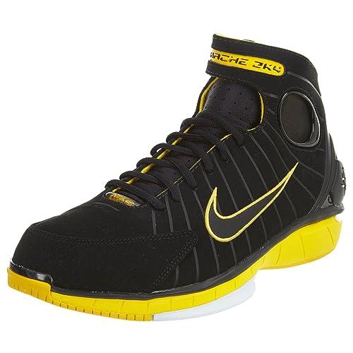 1ef0accb4b60d Nike Men Air Zoom Huarache 2K4 Men s Shoe (Black Black-Varsity Maize-