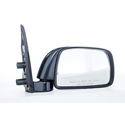 Dependable Direct Right Passenger Side Black Manual Folding Non-Heated Door Mirror for Toyota Tacoma (1995 1996 1997 1998 1999 2000) - TO1321116: Automotive