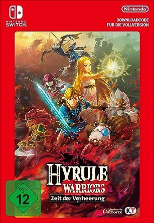Hyrule Warriors Zeit Der Verheerung Standard Nintendo Switch Download Code Amazon De Games