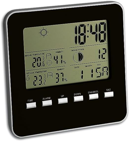 TFA 35.1098.01 - Estación meteorológica Digital con Sensor Remoto: Amazon.es: Jardín