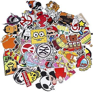 voitures Graffiti Autocollant Stickers vinyles pour ordinateur portable enfants Skateboard bagages Autocollant Lot moto 150-pcs Bumper Stickers hippie autocollants Bomb /étanche... v/élo
