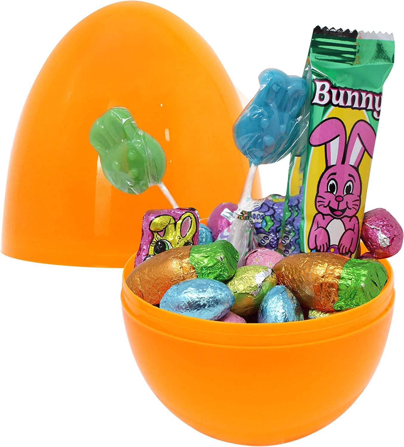 Easter Theme Party Favor Classroom Prize Supplies Toylid Colors Giant Easter Eggs 24 Pcs 7 Jumbo Plastic Bright Solid Easter Eggs Assorted Colors for Filling Treats Basket Stuffers Fillers Easter Eggs Hunt