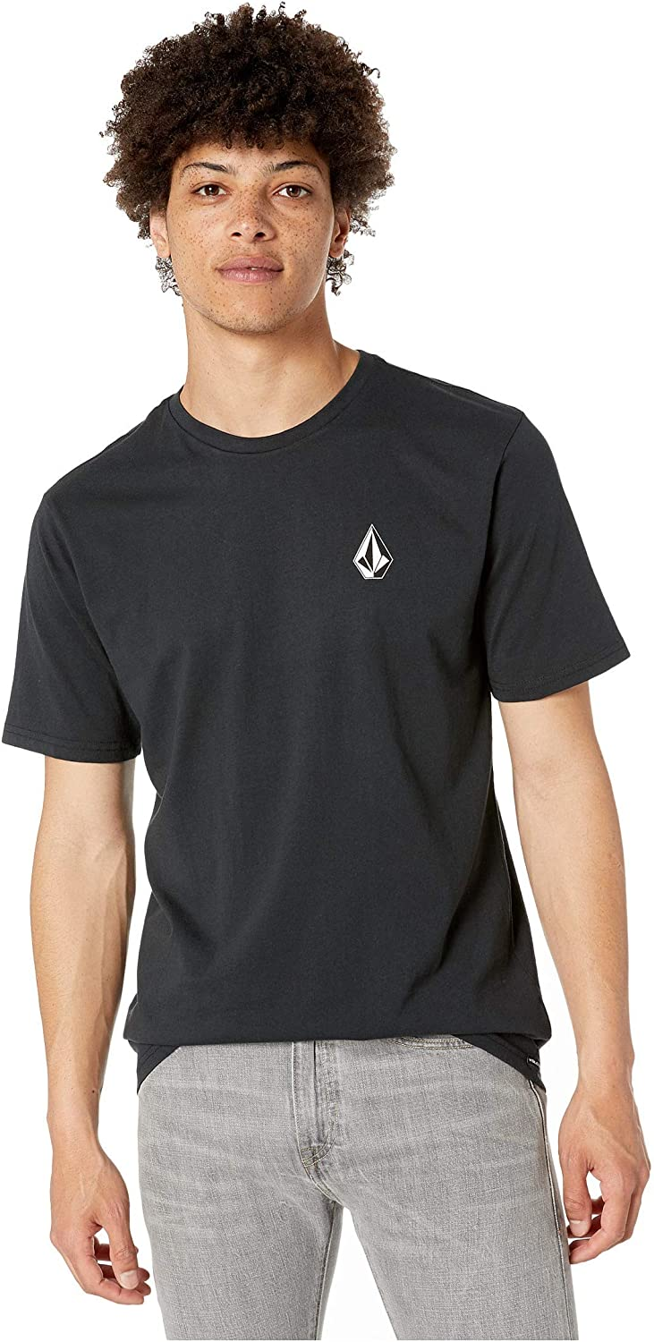 Volcom Mens Deadly Stone Modern Fit Short Sleeve Tee