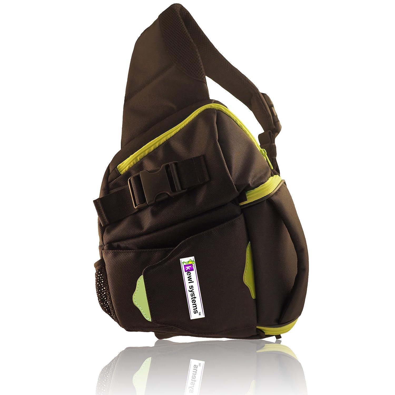 Camera Dslr Sling Camera Bag amazon com dslr camera bag sling backpack digital case black shoulder slr lens for men and women photograph