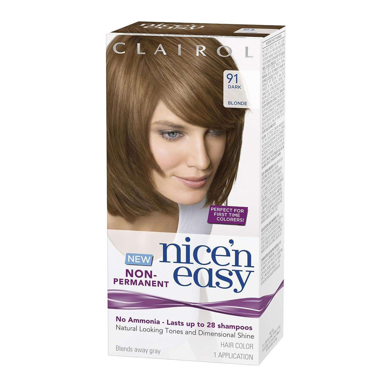 Amazon Clairol Nice N Easy Non Permanent Hair Color 91 Dark