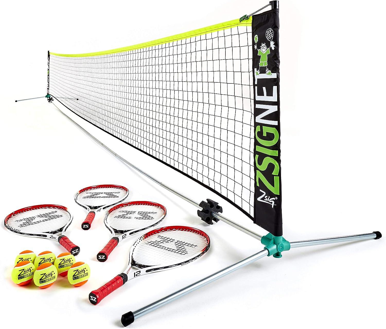 Includes net Baseline Kids 2 Player Home // Garden Tennis Set balls rackets