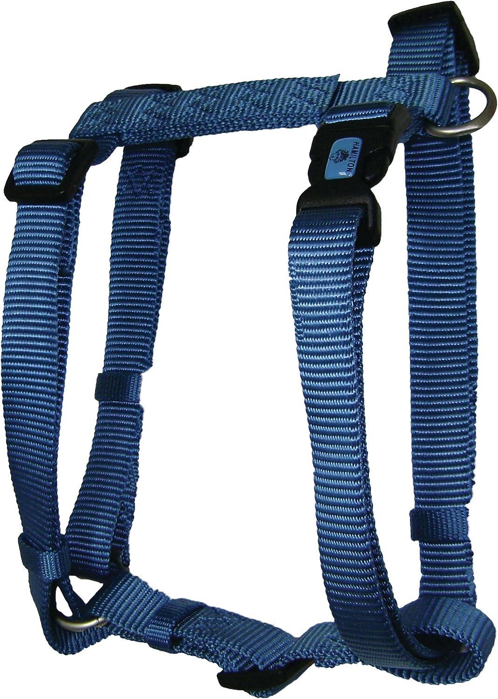 Medium Hamilton B CFA MDSG Ajustable Comfort Dog Harness in Sage Green