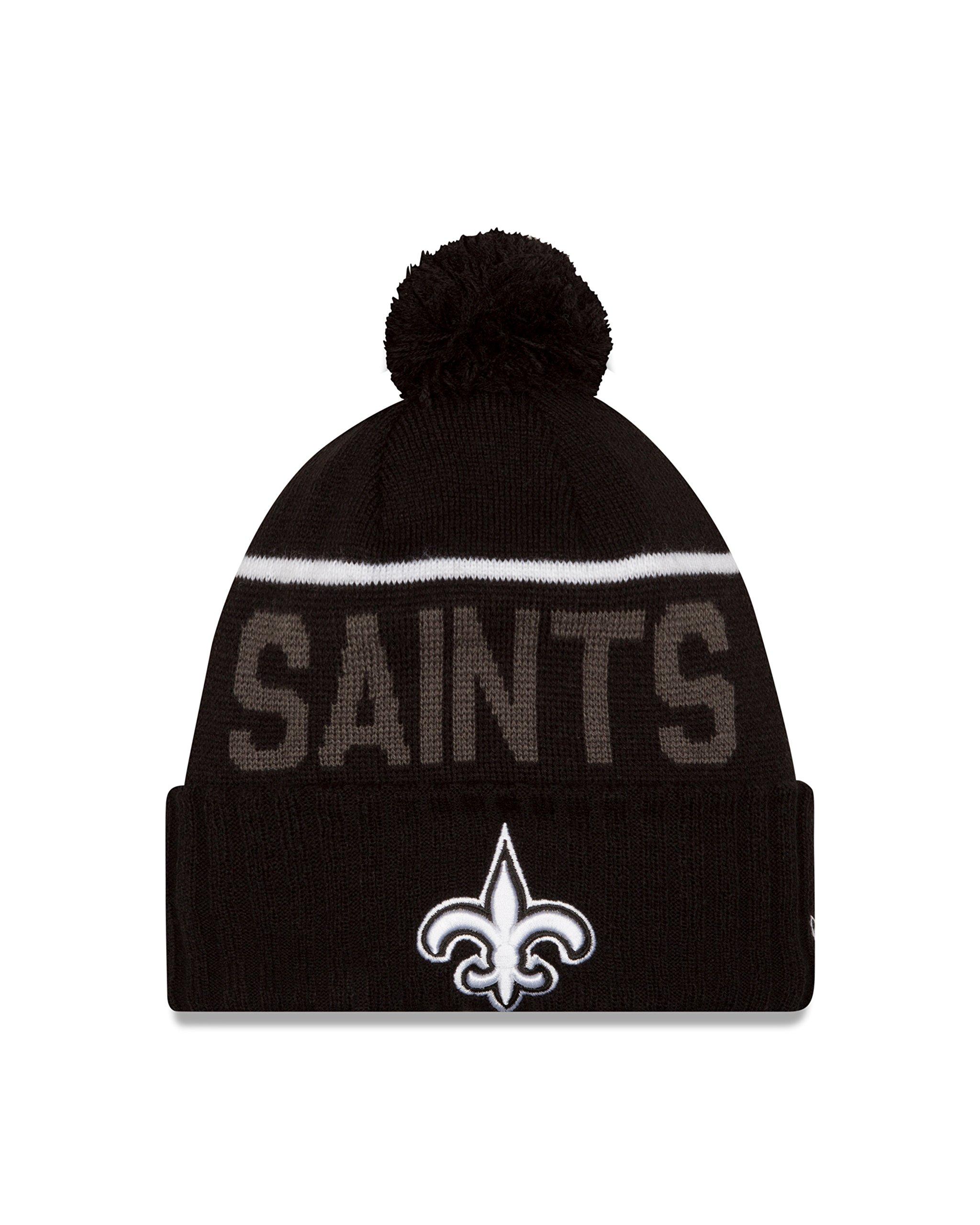 NFL New Orleans Saints 2015 Sport Knit, Black, One Size