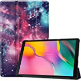 Bestfitshop Cover Case for Samsung Galaxy Tab A 10.1 inch 2019 Release, Ultra Lightweight Protective Slim Smart Shell PU Leather Cover Case for Samsung Galaxy Tab A 10.1 inch (2019 Release) T515 T510 (Galaxy)
