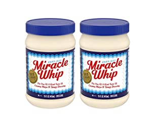 Kraft Gold Standard Recipe Original Miracle Whip - 2 Pk (15 oz ea)