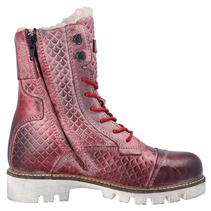 Cab Rouge Yellow Femme Military Y25166 W Bottes 8kN0wPnOX