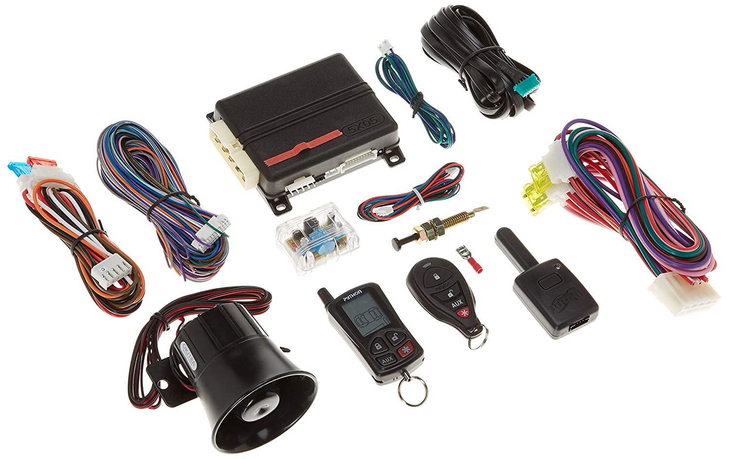 Python 5305P 5305p LCD 2-Way Security /& Remote-Start System with .25-Mile Range /& 2 Remotes
