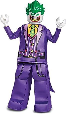 LEGO DISK66334K Prestige Disfraz de Joker, niños, Morado, tamaño ...