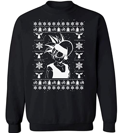 Anime Christmas Sweater.Raxo Anime Christmas Sweatshirt Manga Ugly Christmas Sweater Anime Sweater Xmas Gifts