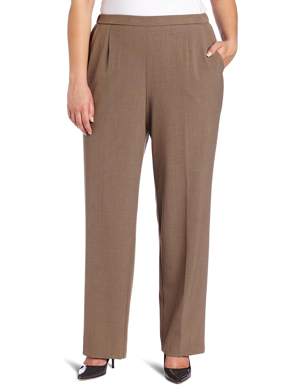 98ac9fd0f97 Briggs New York Women's Plus-Size All Around Comfort Pant: Amazon.ca:  Clothing & Accessories