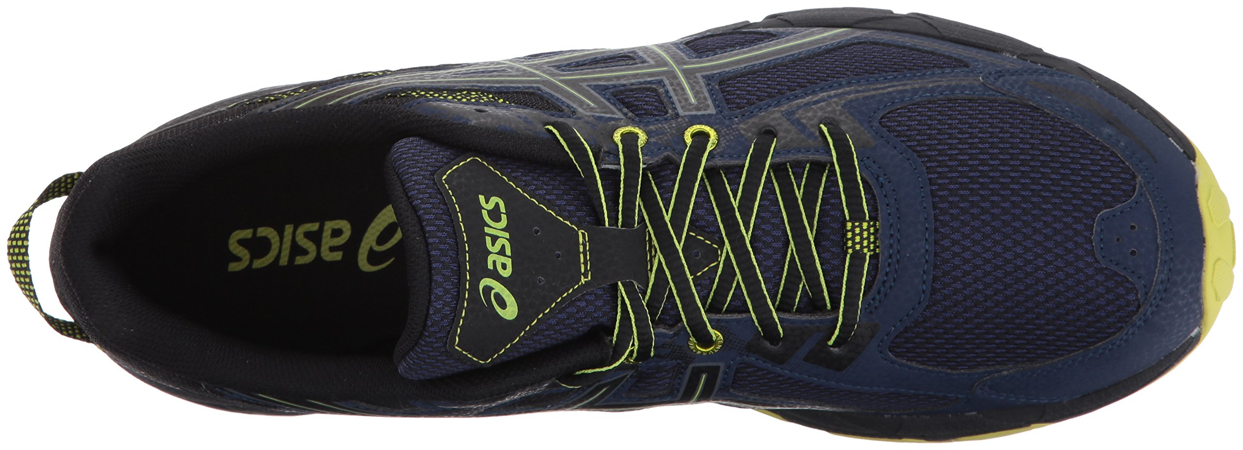 ASICS Mens Gel-Venture 6 Running Shoe, Indigo Blue/Black/Energy Green, 7 Medium US by ASICS (Image #8)
