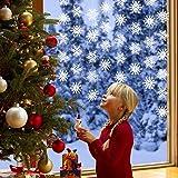Conthfut Christmas Decoration, 8PCS Snowflake Decorations - Winter Wonderland/Xmas/Holiday Party Supplies