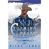 Clashing Hearts: An enemies to lovers, gay romance novel (A Hometown Jasper Novel)