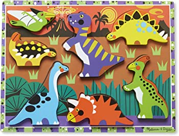 Melissa & Doug Colorful Dinosaur Toy For Kids