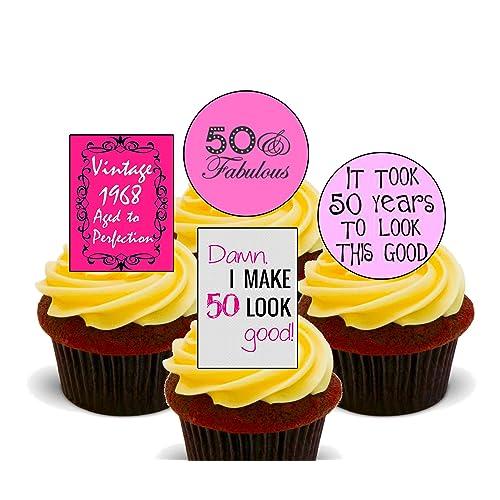 50th Birthday Cake Decorations: Amazon.co.uk