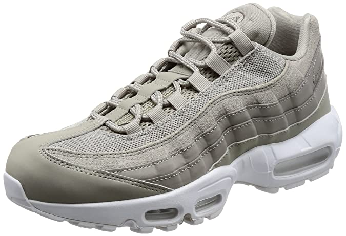 check out 9ef92 4760c Nike Mens Air Max 95 Premium 538416-005 Cobblestone/White Size 10.5:  Amazon.in: Shoes & Handbags