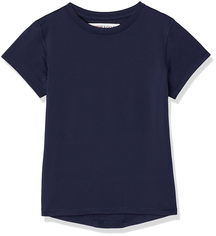 RED WAGON Girl's Mesh Back Panel Sports T-Shirt SFP1 -G7