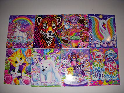 Lisa Frank 2 Pocket Folders Pack Of 4