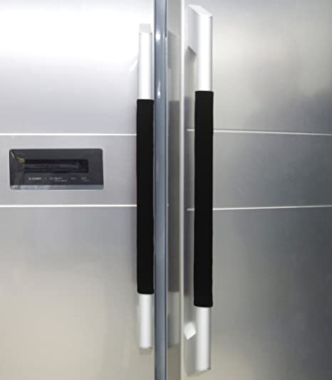 Amazon.com: Funda para manija de puerta de refrigerador, de ...