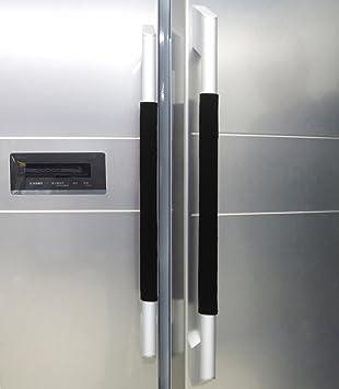 Amazon.com: Plush Refrigerator Door Handle Cover Antiskid ...