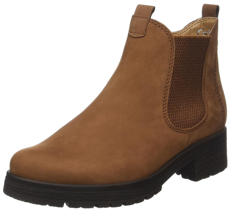 Gabor Shoes Comfort Sport, Botas para Mujer Marrón (43 Nut Micro)