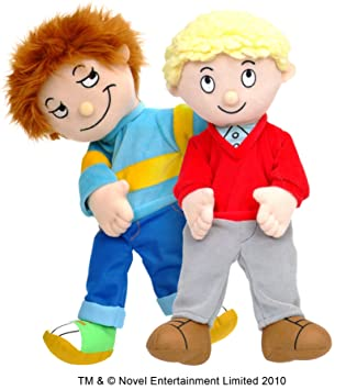 Fiesta Crafts Tellatale Horrid Henry And Perfect Peter Hand Puppet Set