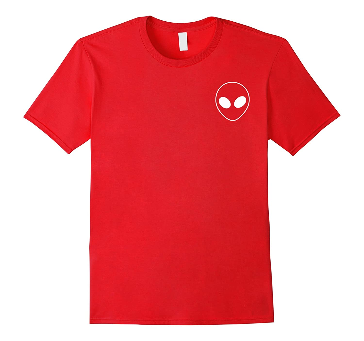 Alien Head Pocket Shirt-TH